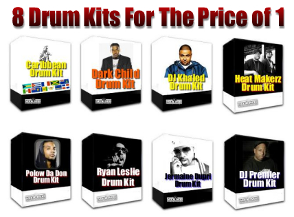 Product picture Hip Hop Drum Kits / Sound Kits  - #1 Download For The Price!
